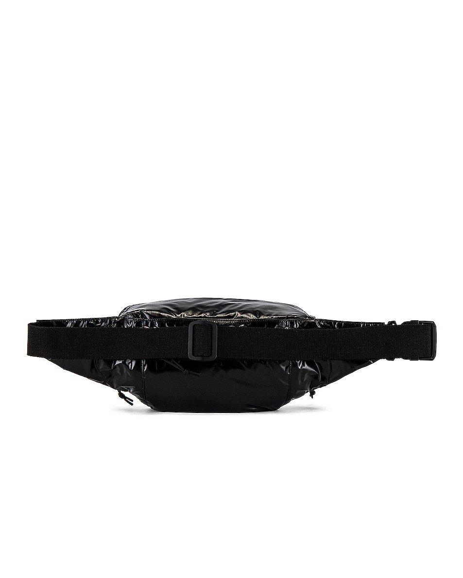 Image 2 of Saint Laurent Nylon Ripstop Bodybag in Black & Platinum