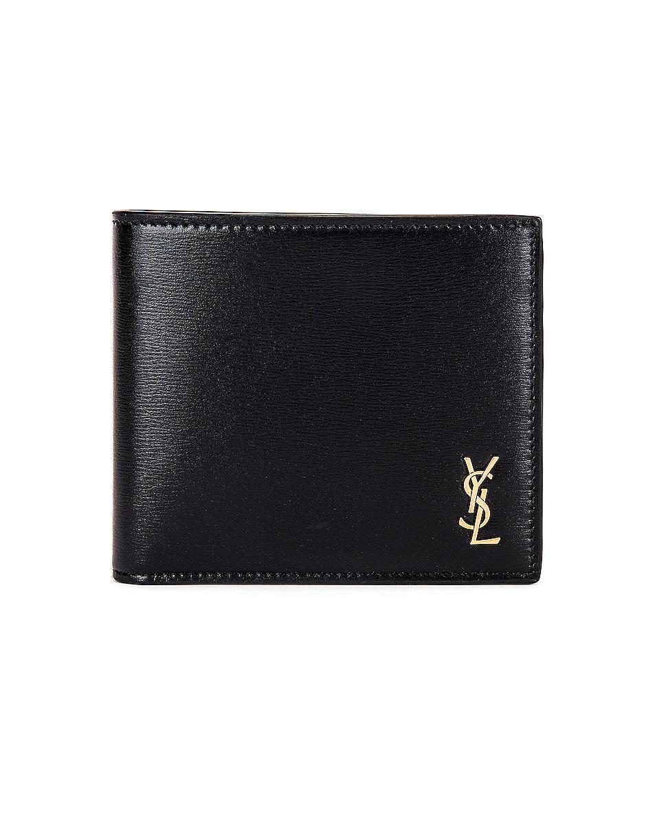 Image 1 of Saint Laurent Credit Card Holder in Black