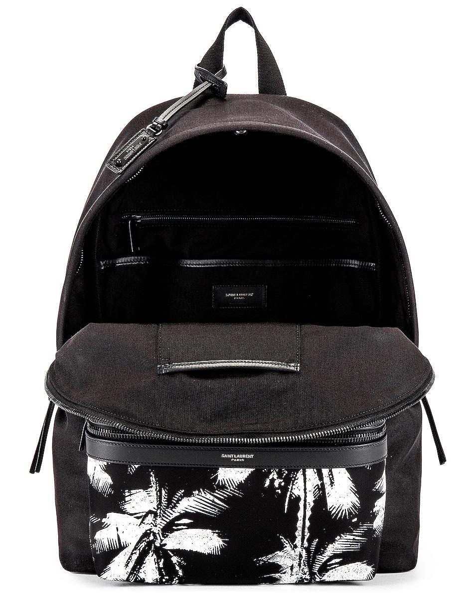 Image 4 of Saint Laurent Backpack in Black & White