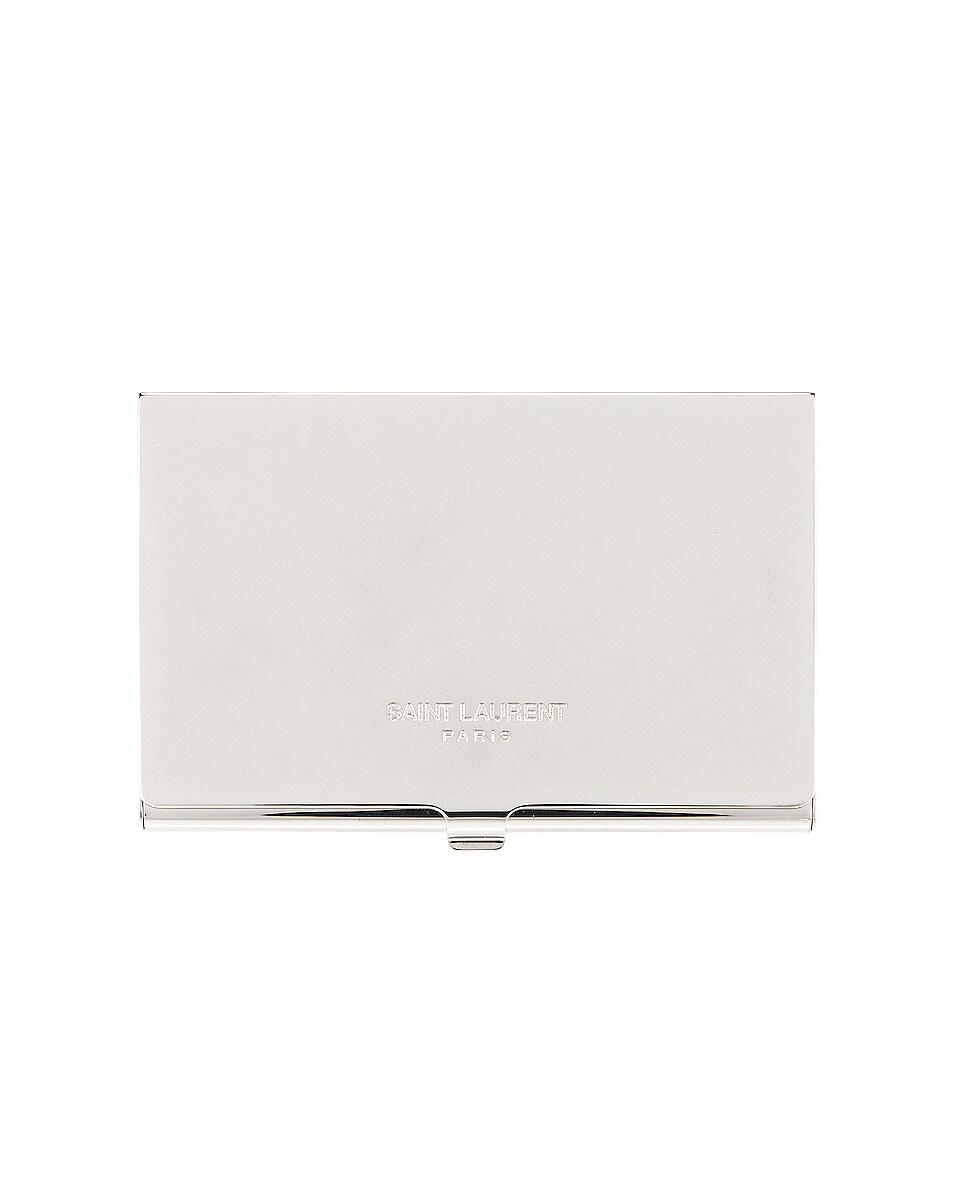 Image 1 of Saint Laurent YSL Card Case in Palladio