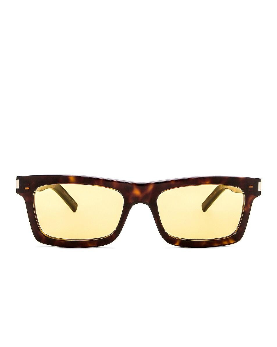Image 1 of Saint Laurent Betty Sunglasses in Dark Havana