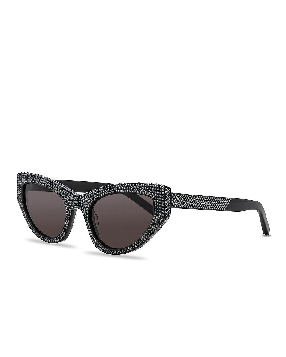 Image 2 of Saint Laurent Grace Sunglasses in Black