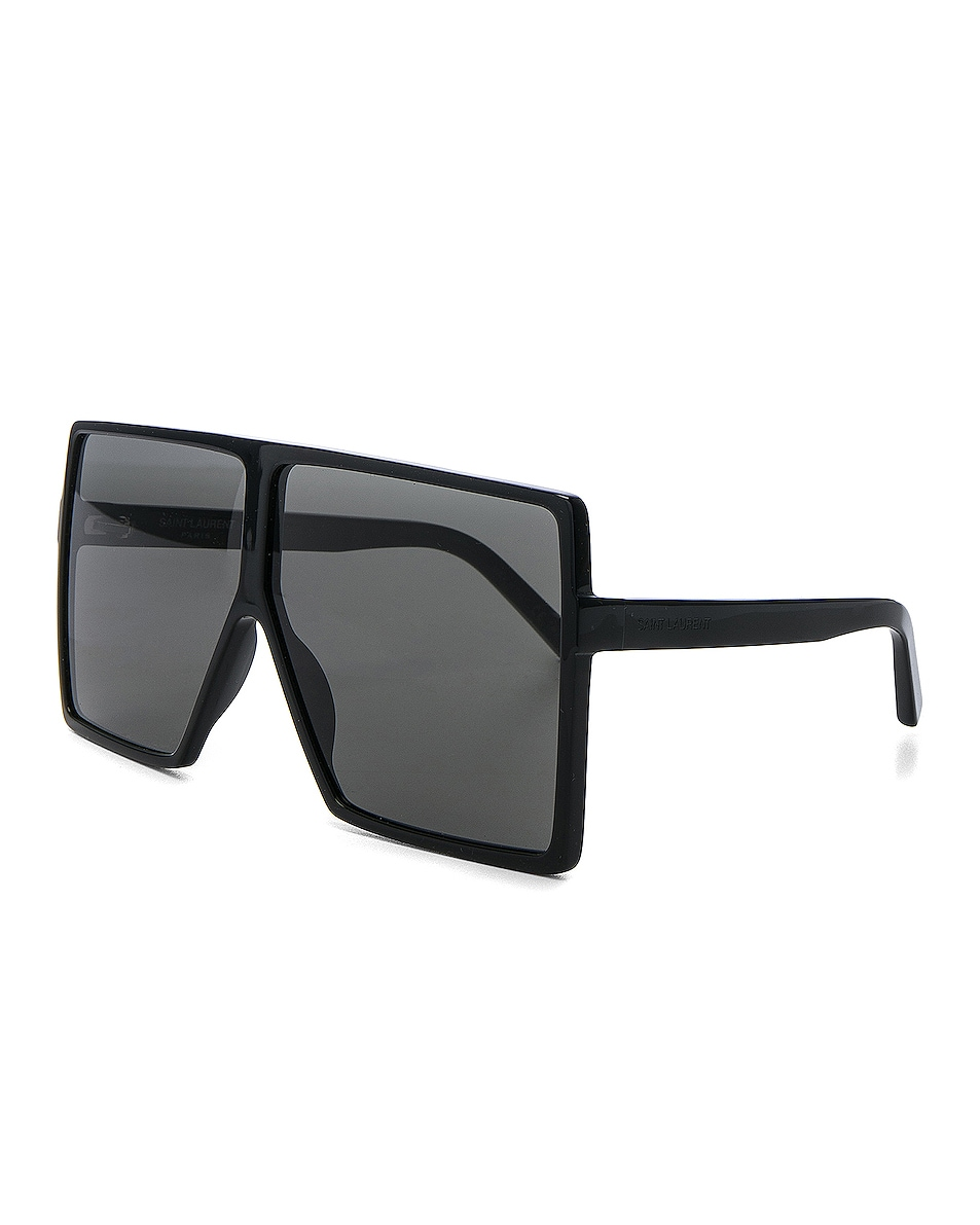 Image 2 of Saint Laurent Betty Sunglasses in Black