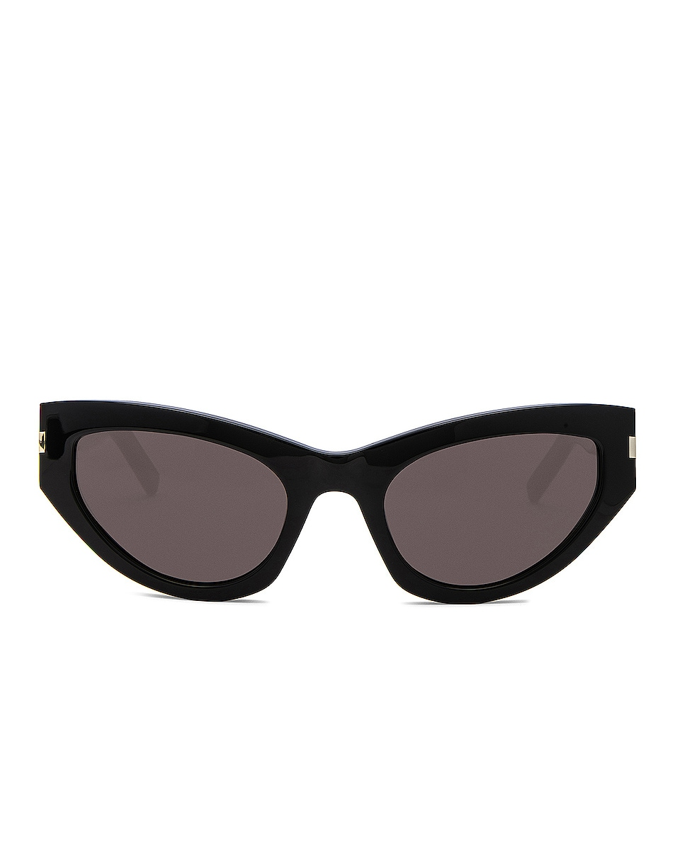 Image 1 of Saint Laurent Grace Sunglasses in Black