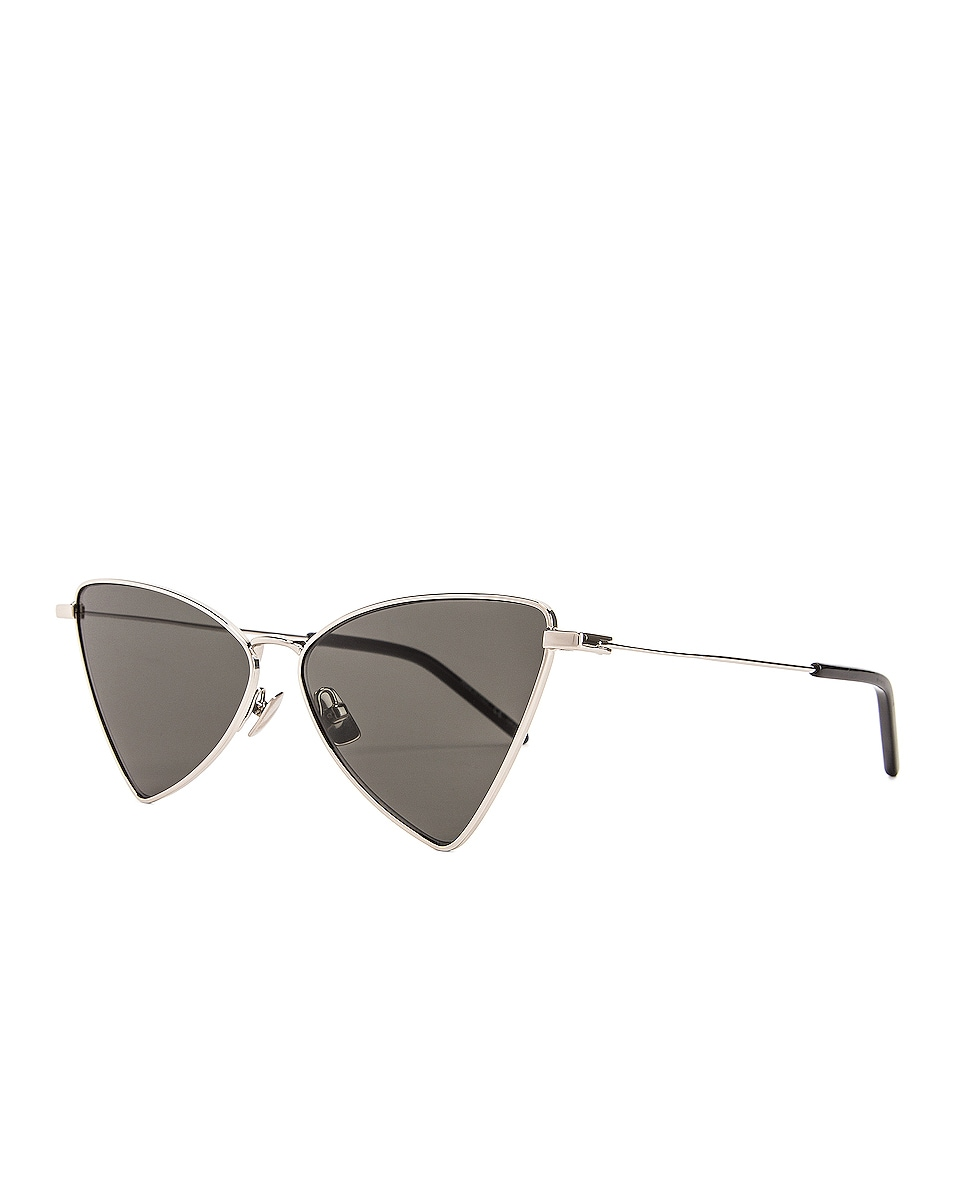 Image 2 of Saint Laurent Jerry Sunglasses in Shiny Silver