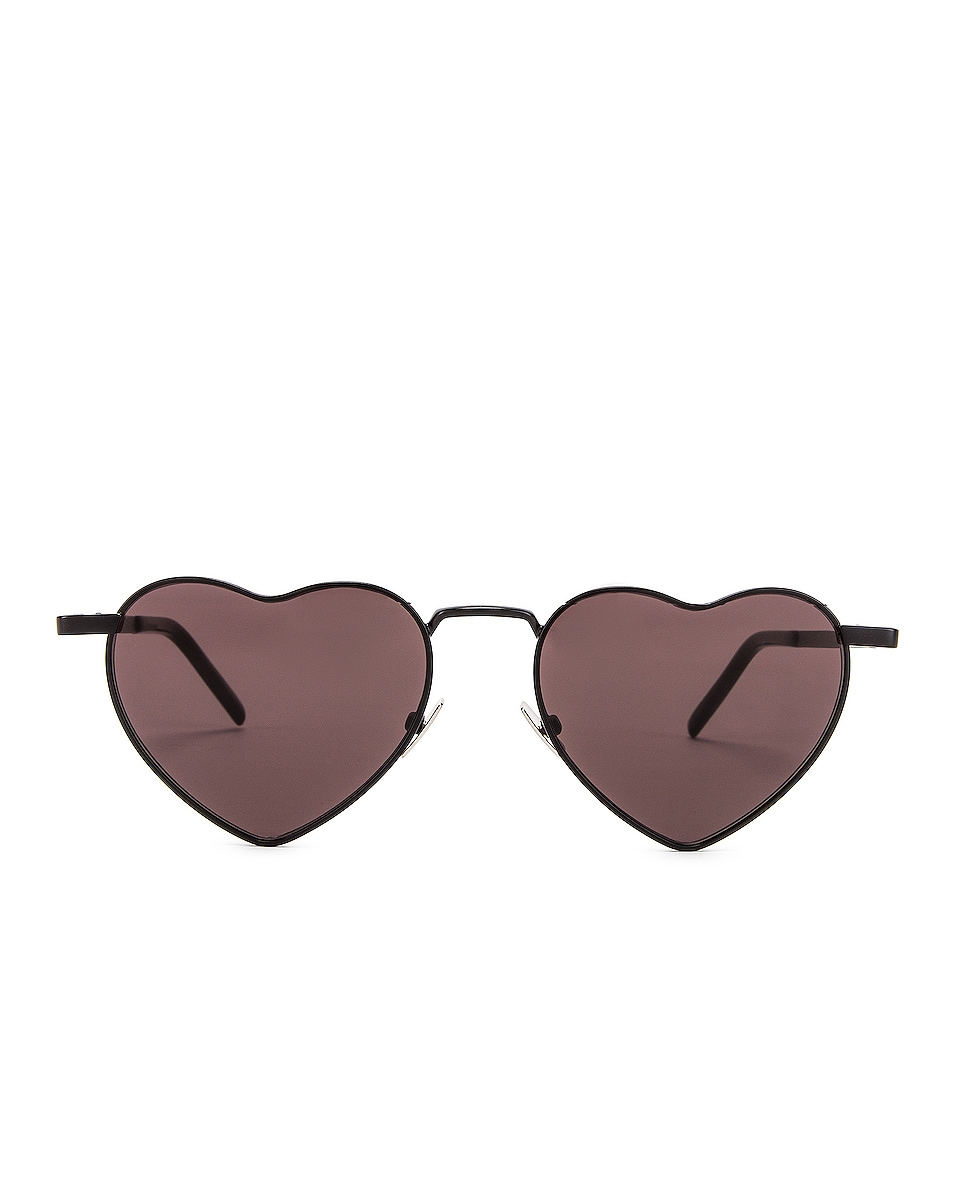 Image 1 of Saint Laurent Loulou Sunglasses in Black