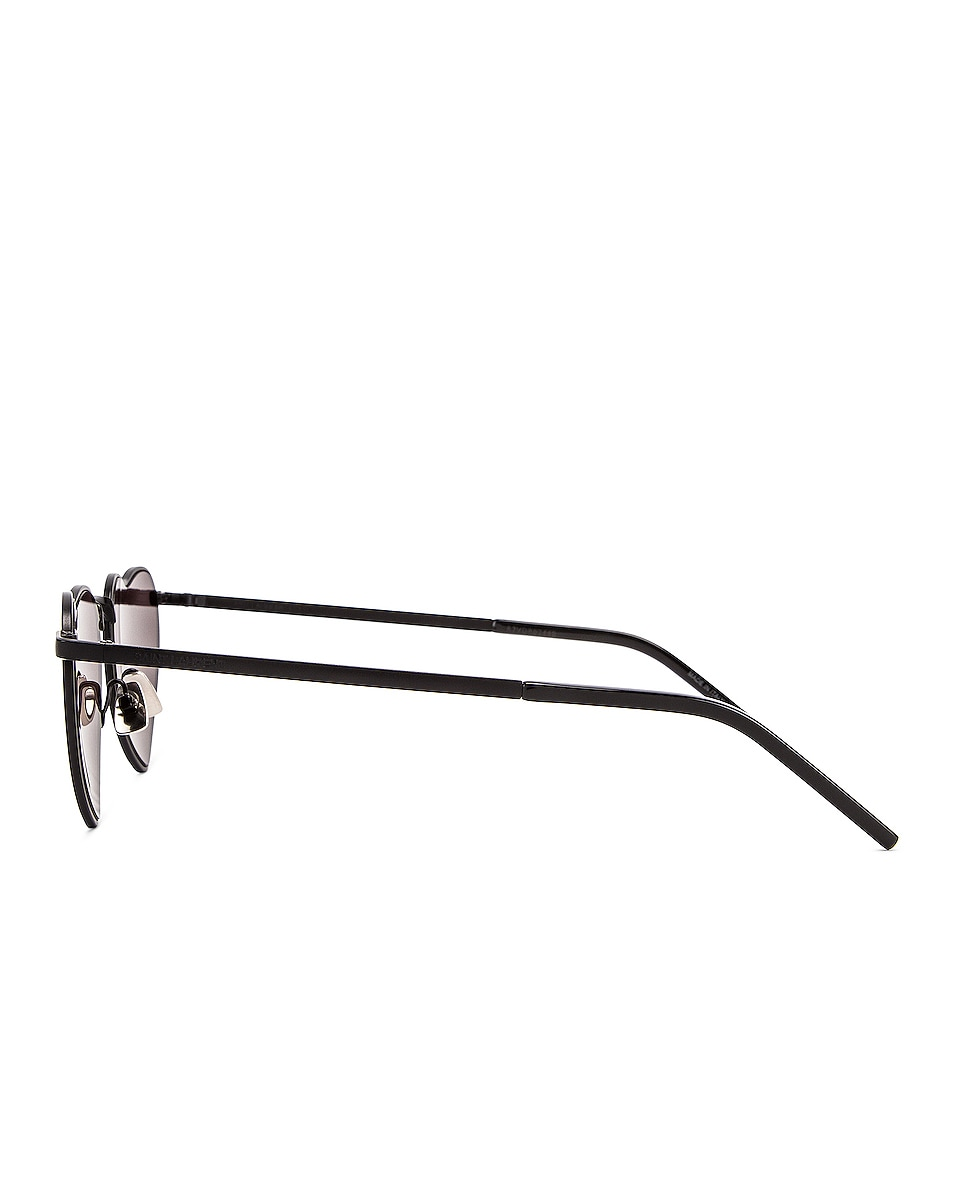 Image 3 of Saint Laurent Loulou Sunglasses in Black