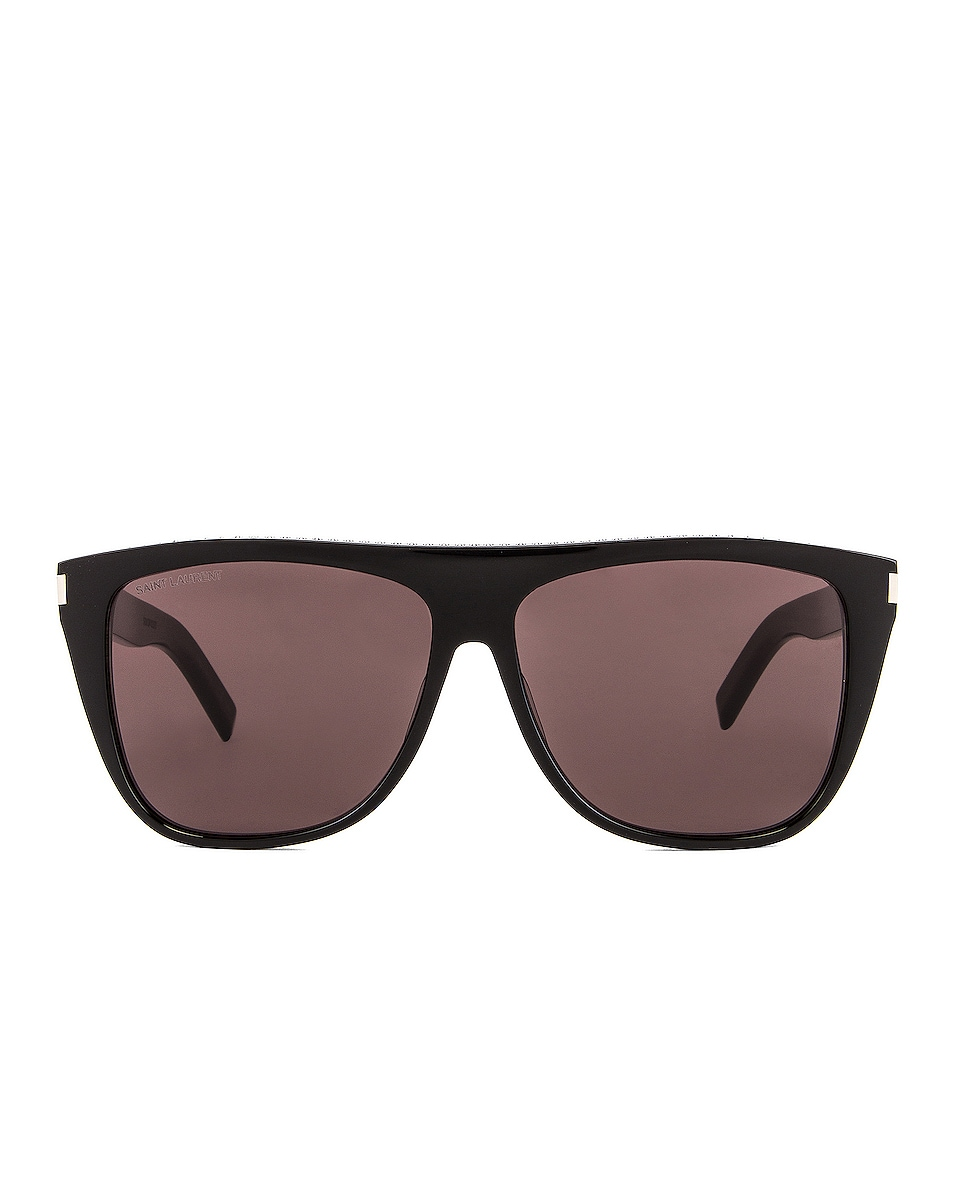 Image 1 of Saint Laurent Stud Sunglasses in Black