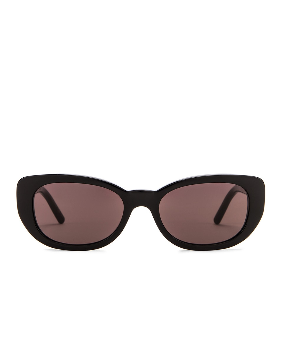 Image 1 of Saint Laurent Betty Vintage Sunglasses in Shiny Black