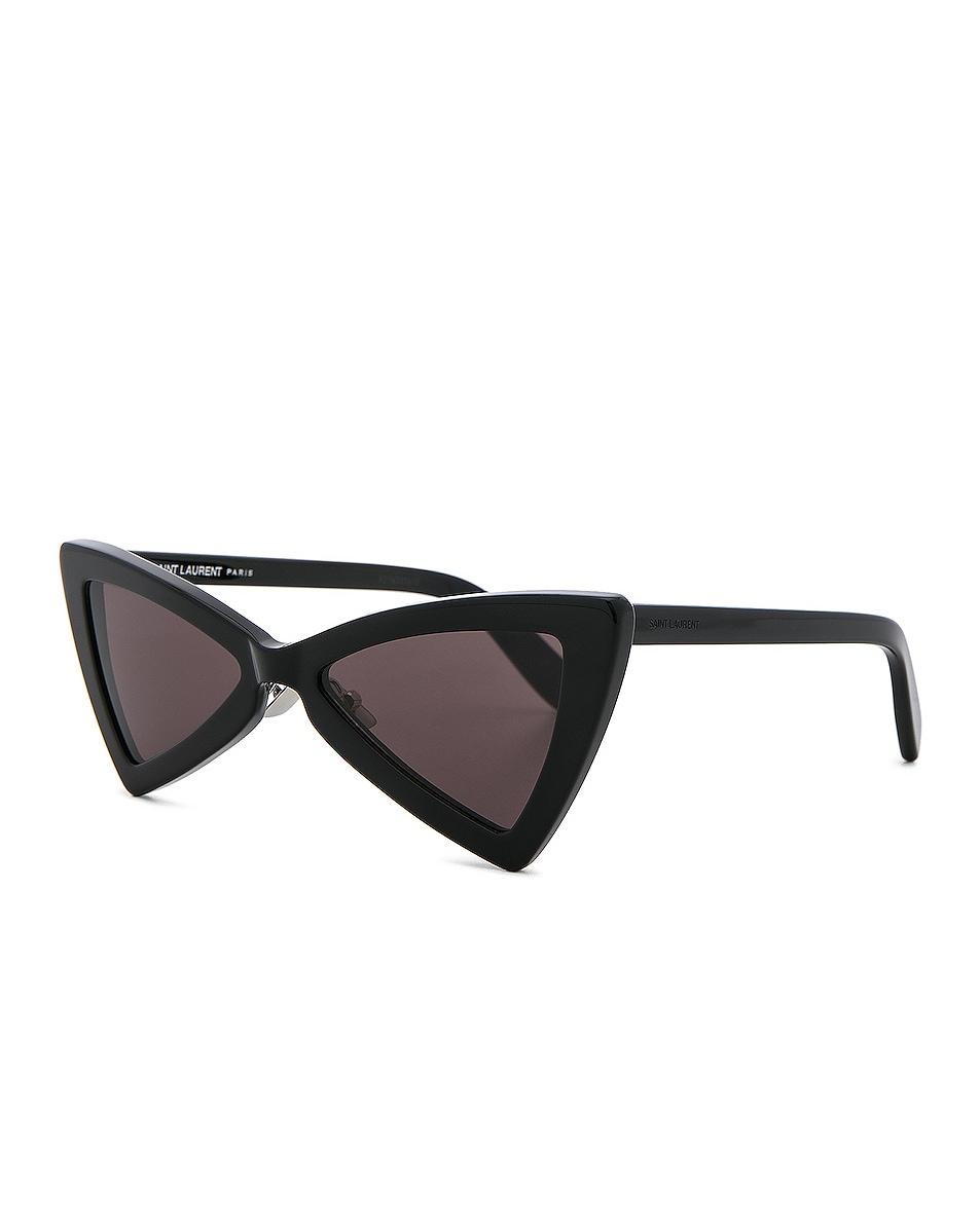 good Saint Laurent Jerry Bow Tie Sunglasses Black