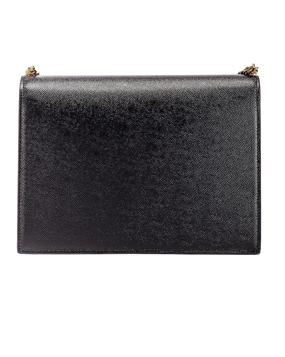 Image 3 of Saint Laurent Medium Monogramme Cassandra Crossbody Bag in Black