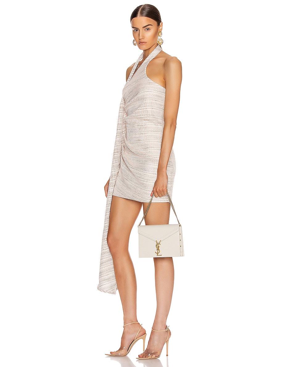 Image 2 of Saint Laurent Medium Monogramme Cassandra Crossbody Bag in Crema Soft