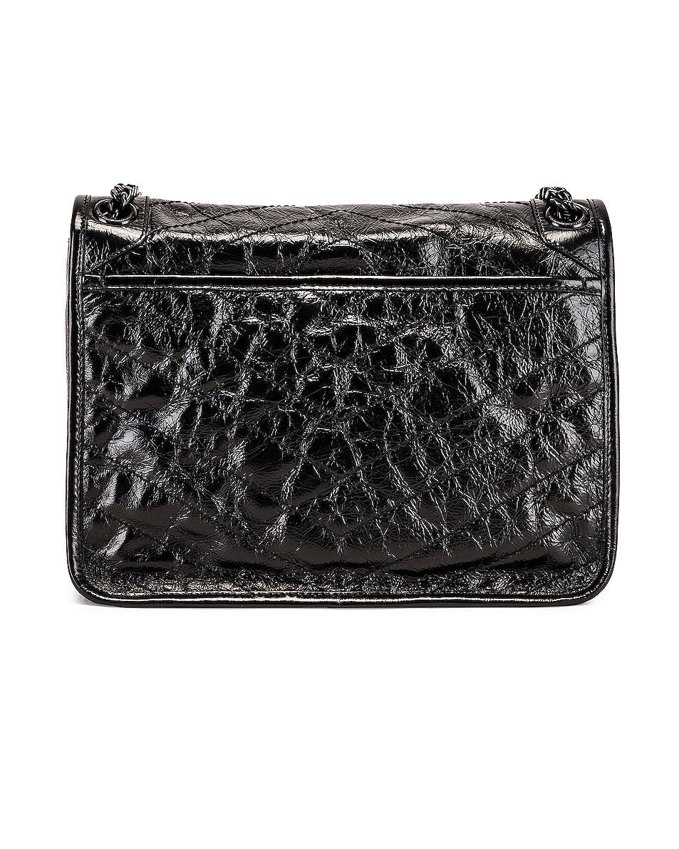 Image 3 of Saint Laurent Medium Niki Chain Shoulder Bag in Black