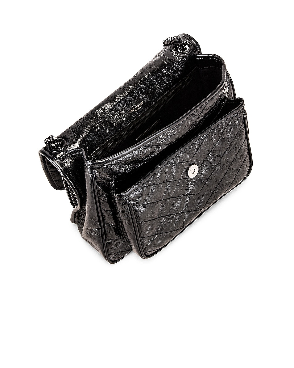 Image 5 of Saint Laurent Medium Niki Chain Shoulder Bag in Black