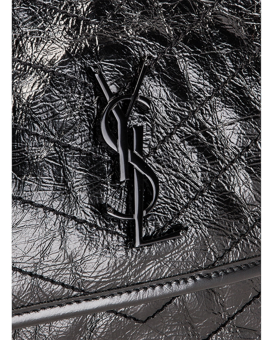 Image 8 of Saint Laurent Medium Niki Chain Shoulder Bag in Black