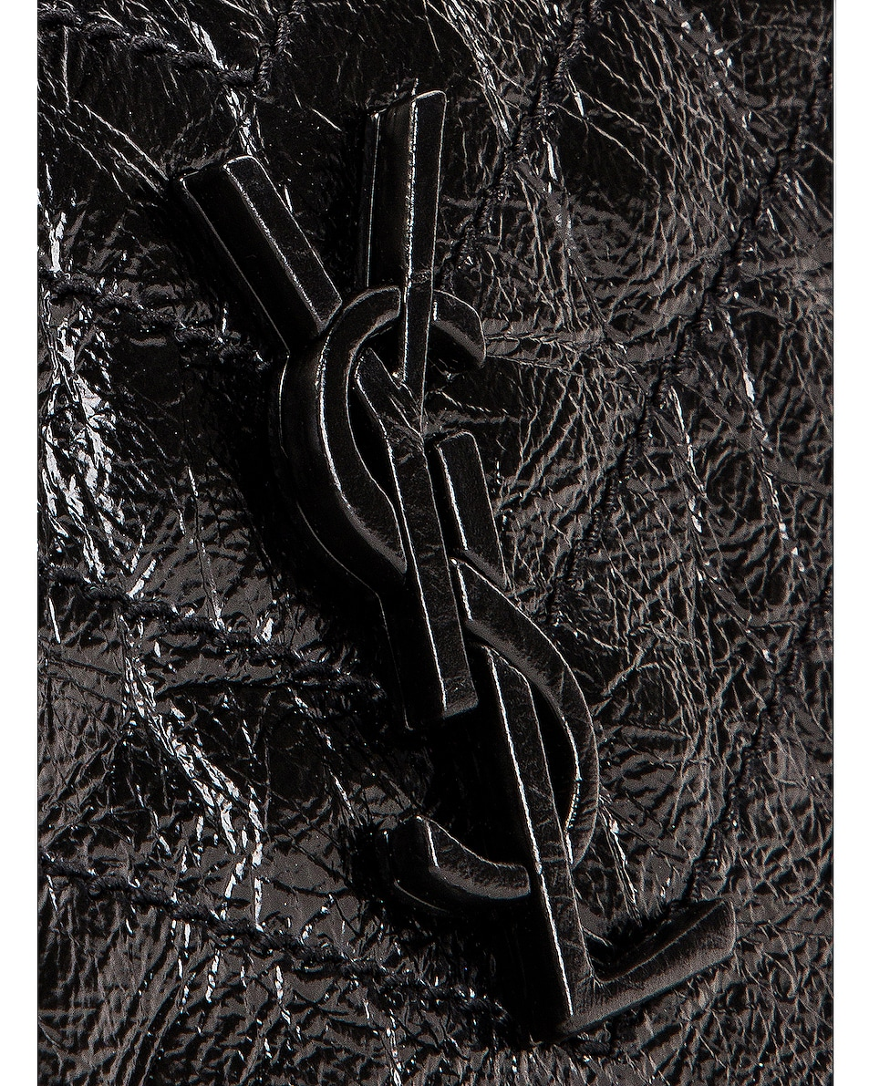 Image 6 of Saint Laurent Niki Wallet in Black