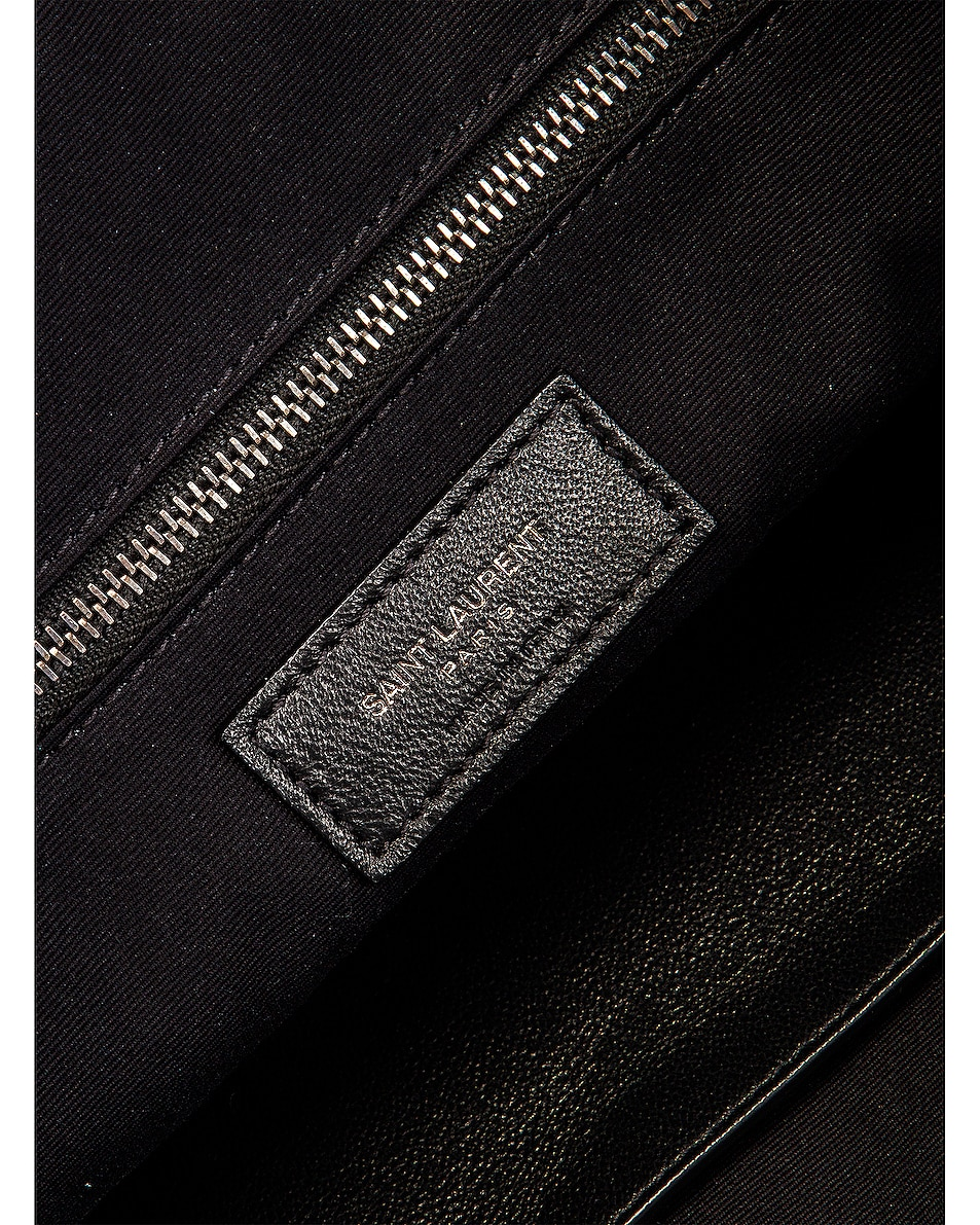 Image 7 of Saint Laurent Monogramme Niki Shoulder Bag in Dark Smog