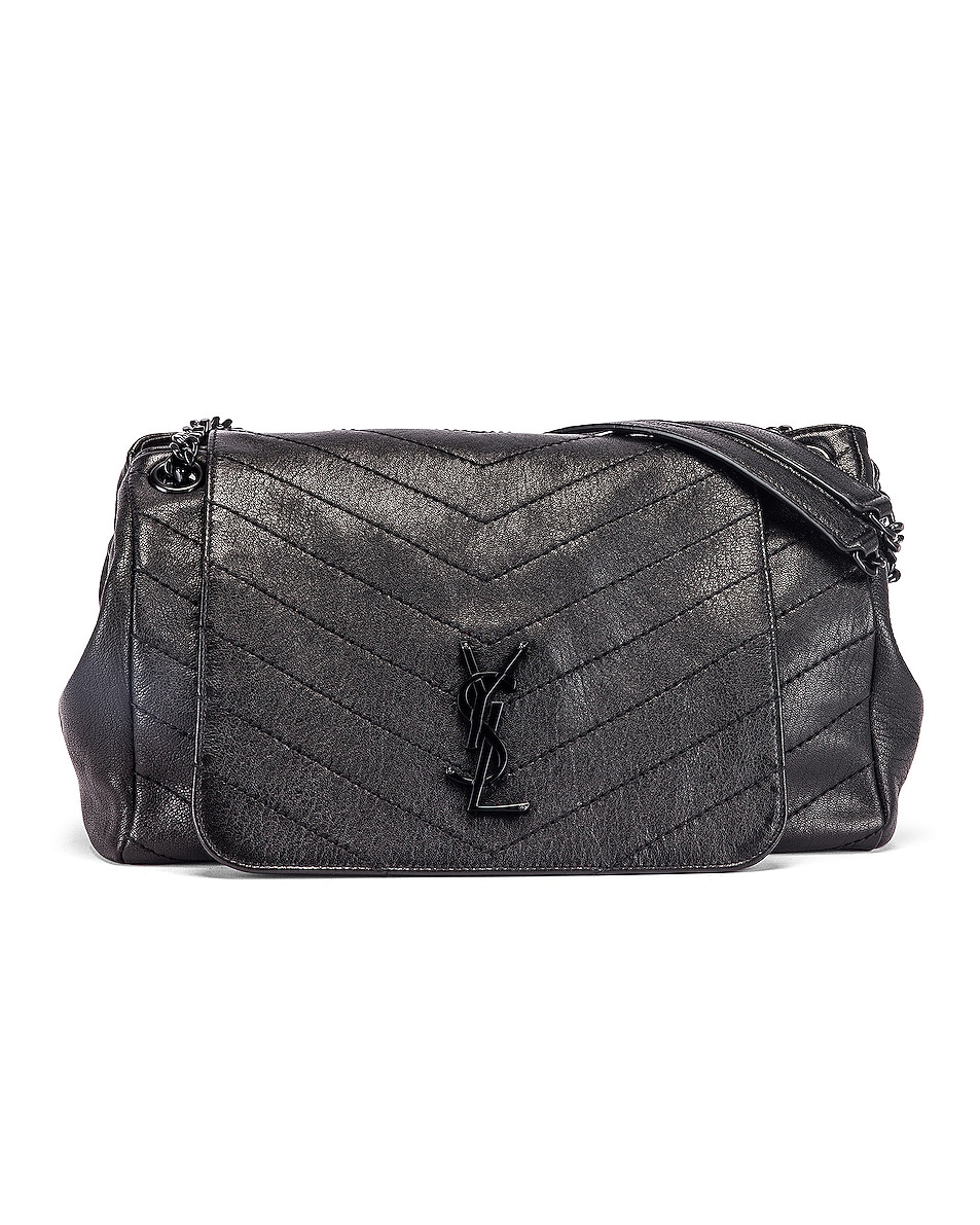 Image 1 of Saint Laurent Monogramme Nolita Shoulder Bag in Black