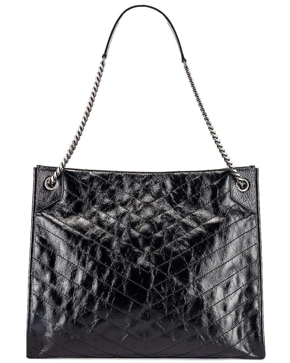 Image 3 of Saint Laurent Monogramme Niki Shoulder Bag in Black