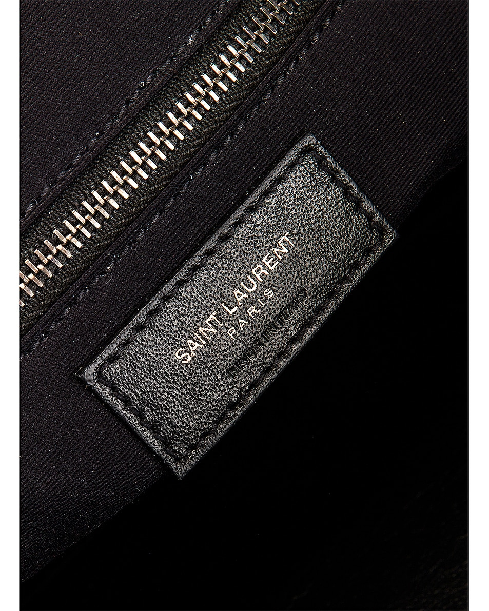 Image 6 of Saint Laurent Monogramme Niki Shoulder Bag in Black