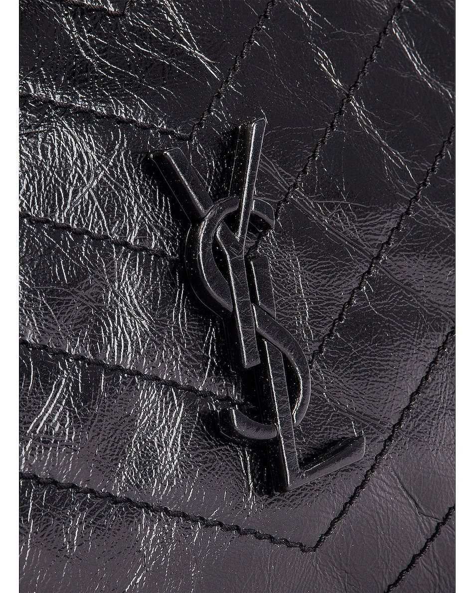 Image 7 of Saint Laurent Monogramme Niki Shoulder Bag in Black