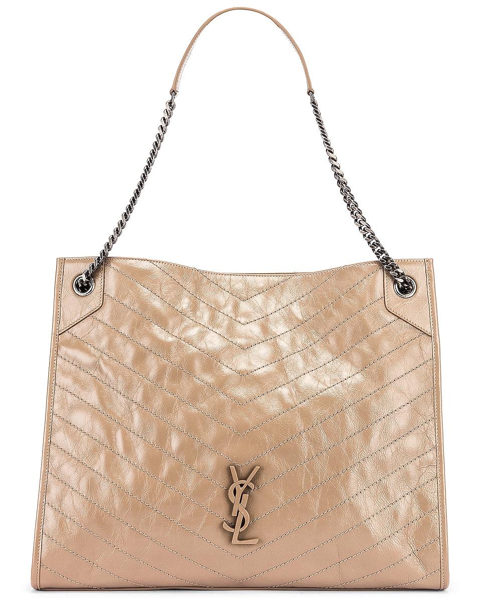 Image 1 of Saint Laurent Monogramme Niki Shoulder Bag in Dusty Grey