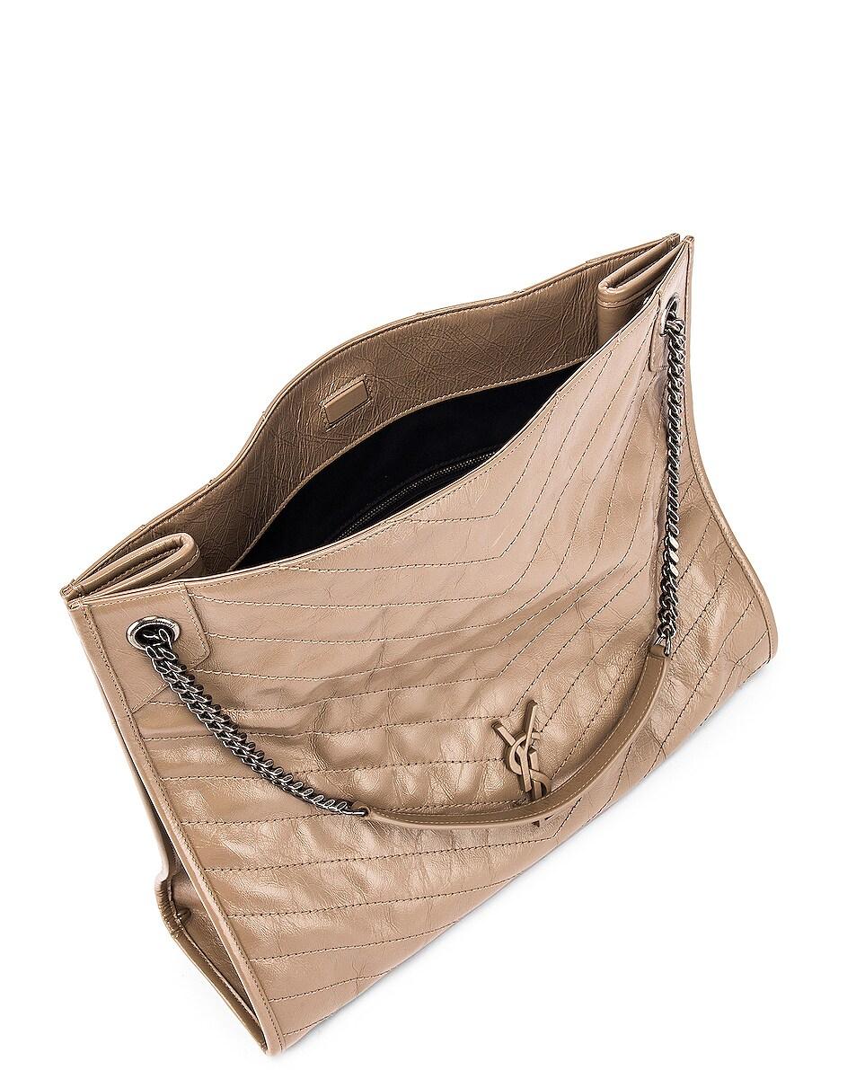Image 5 of Saint Laurent Monogramme Niki Shoulder Bag in Dusty Grey