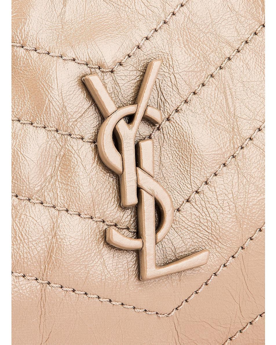 Image 6 of Saint Laurent Monogramme Niki Shoulder Bag in Dusty Grey