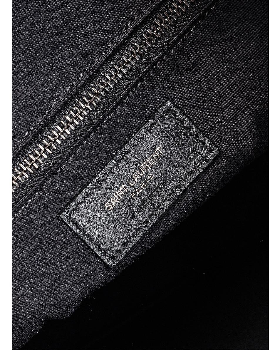 Image 7 of Saint Laurent Monogramme Niki Shoulder Bag in Dusty Grey