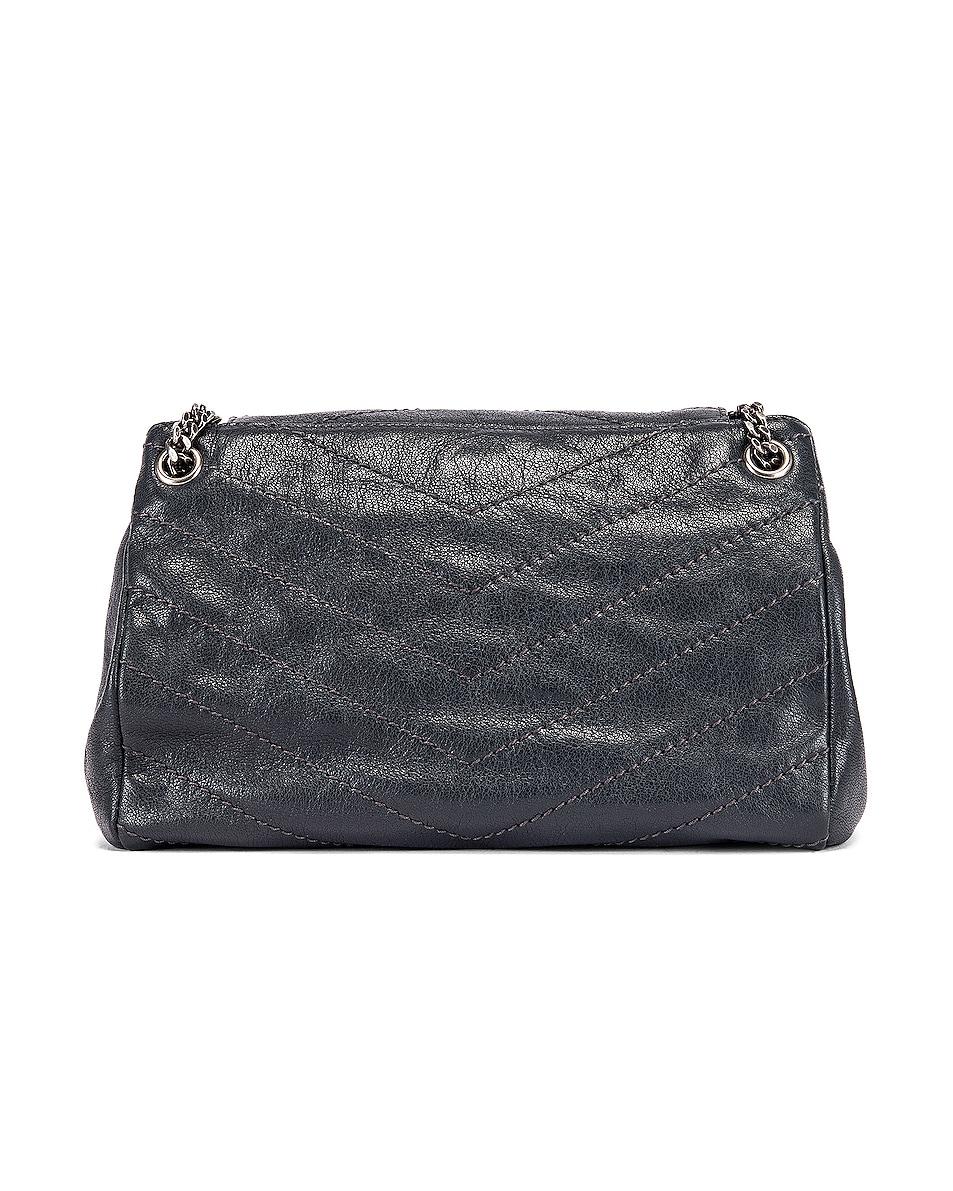 Image 3 of Saint Laurent Monogramme Nolita Shoulder Bag in Dark Smog