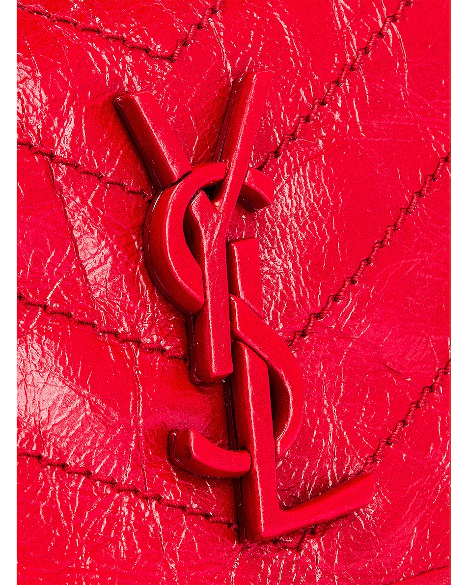 Image 6 of Saint Laurent Niki Wallet in Red