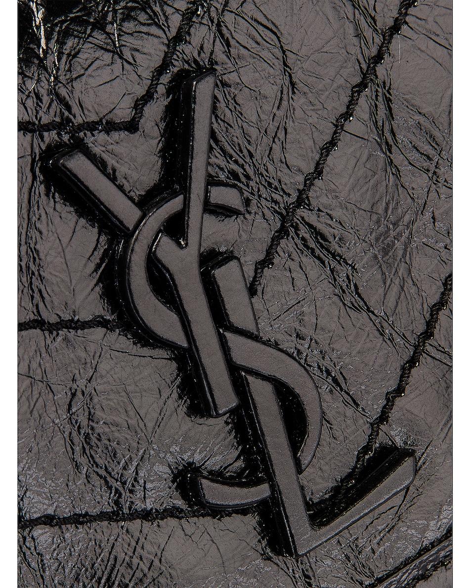 Image 8 of Saint Laurent Monogramme Niki Body Bag in Black