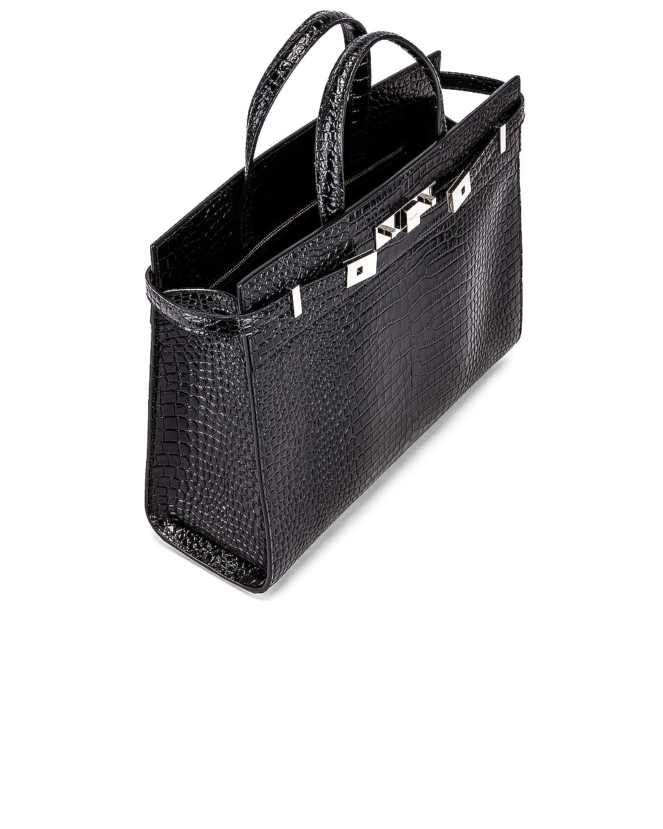 Image 5 of Saint Laurent Manhattan Shoulder Bag in Black