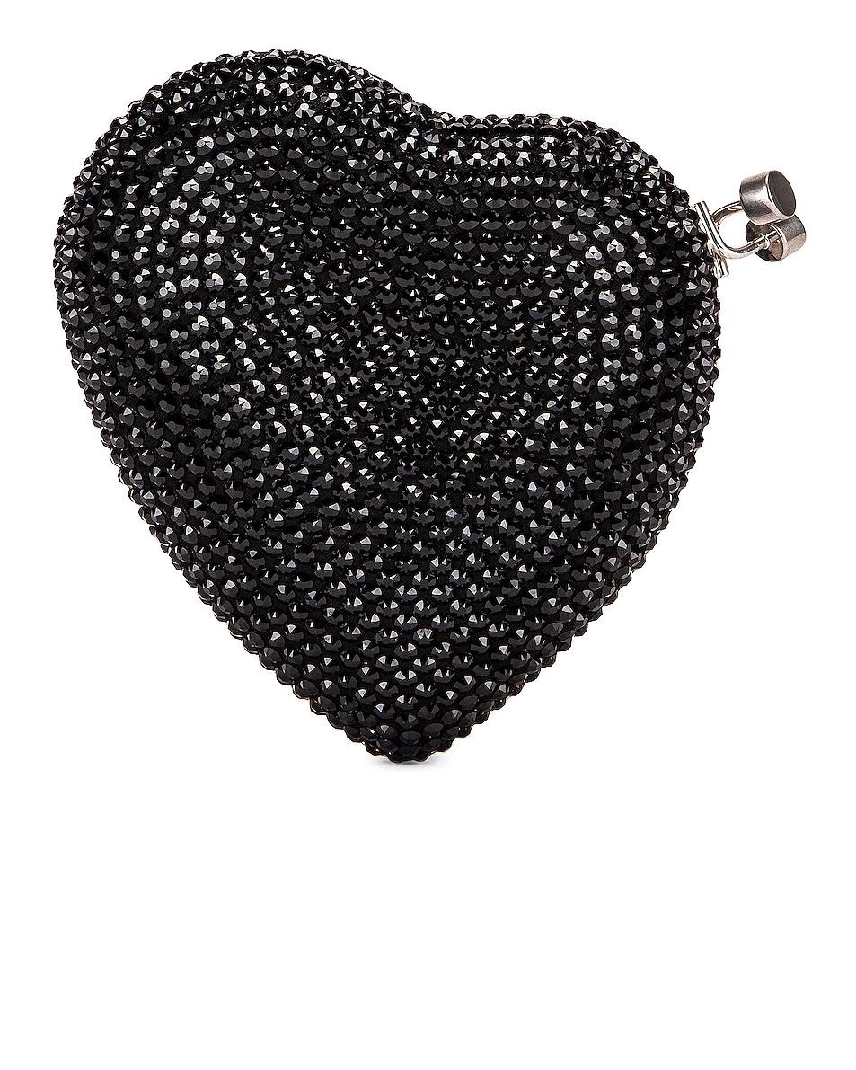 Image 3 of Saint Laurent Small Love Box Crossbody Bag in Black