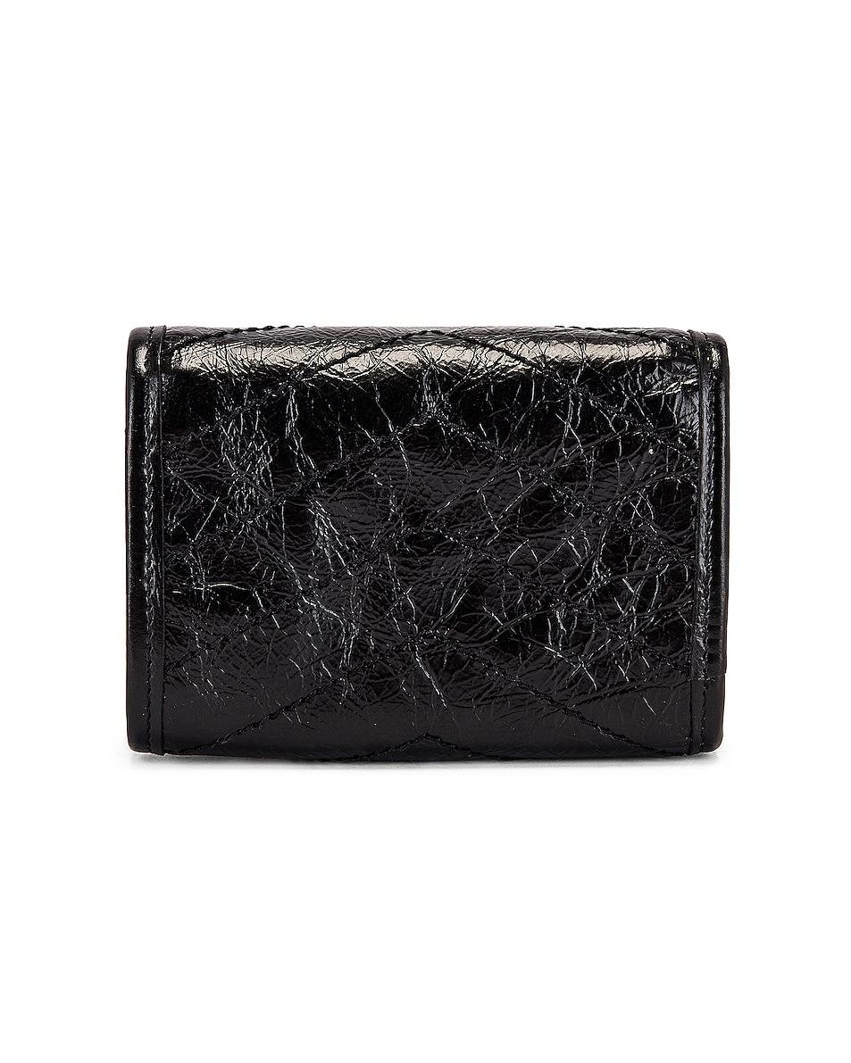 Image 2 of Saint Laurent Credit Card Wallet in Black