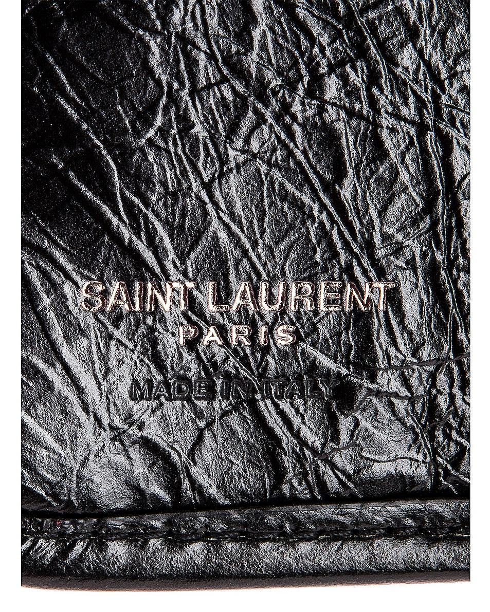 Image 5 of Saint Laurent Credit Card Wallet in Black