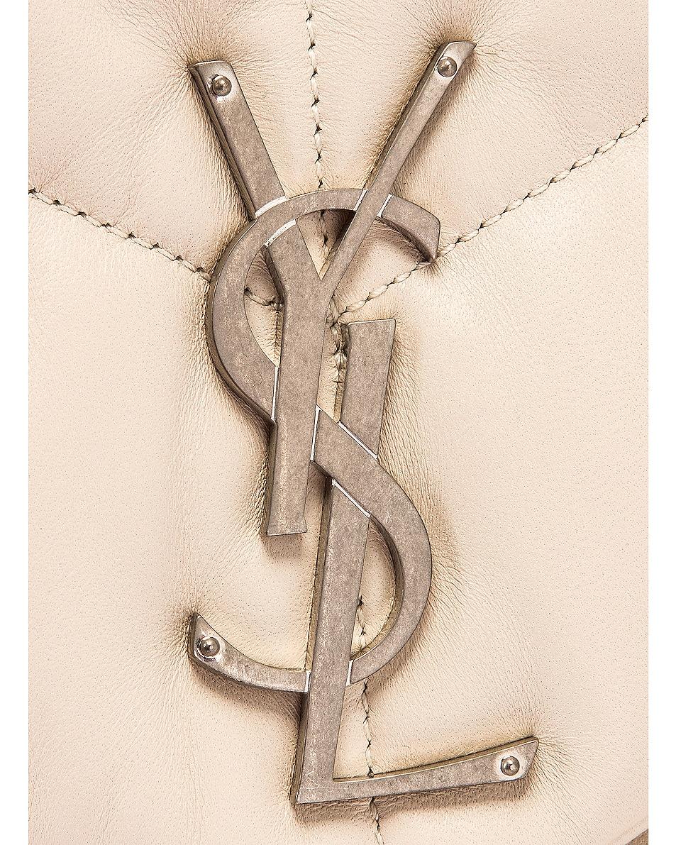 Image 8 of Saint Laurent Medium LouLou Monogramme Bag in Crema Soft