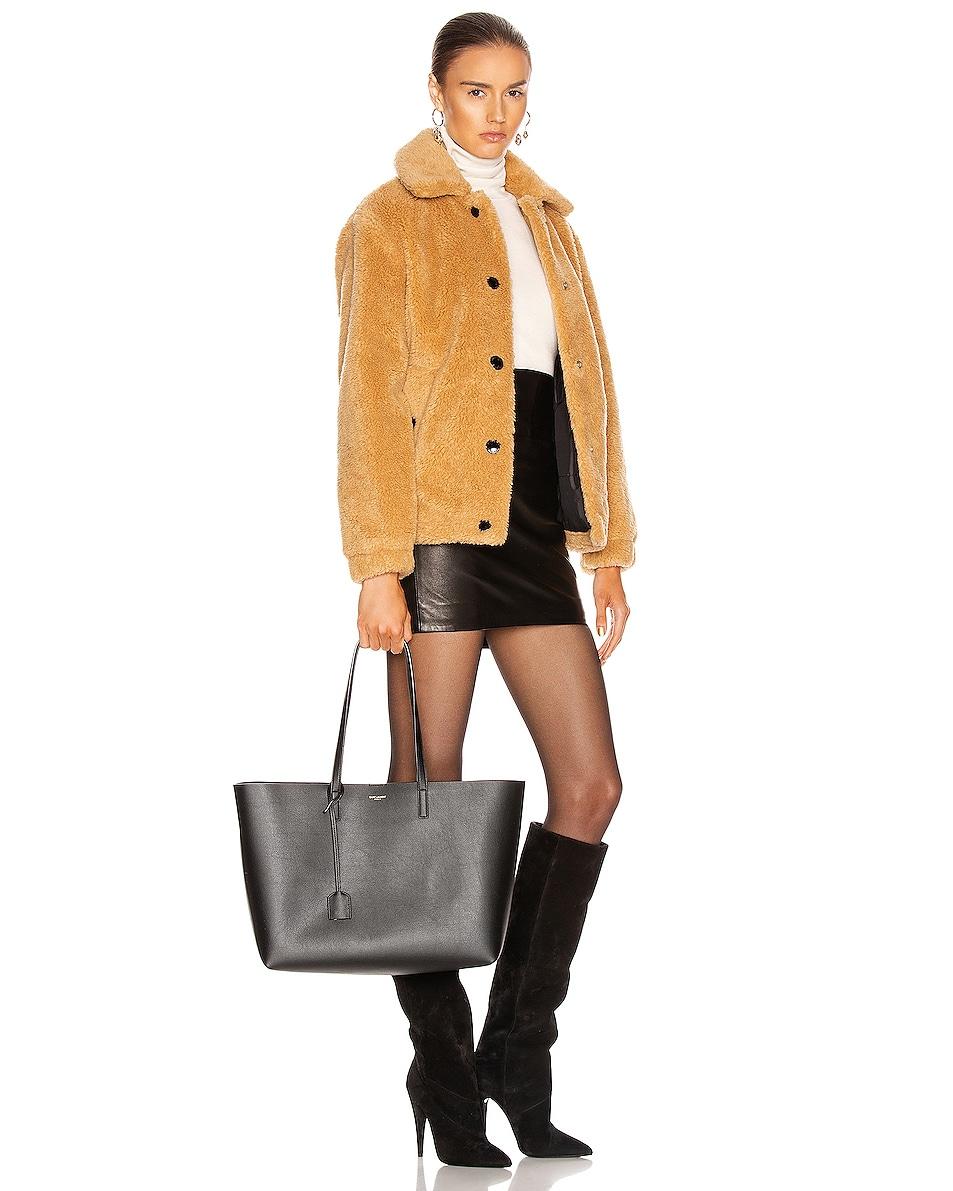Image 2 of Saint Laurent East West Shopping Bag in Black