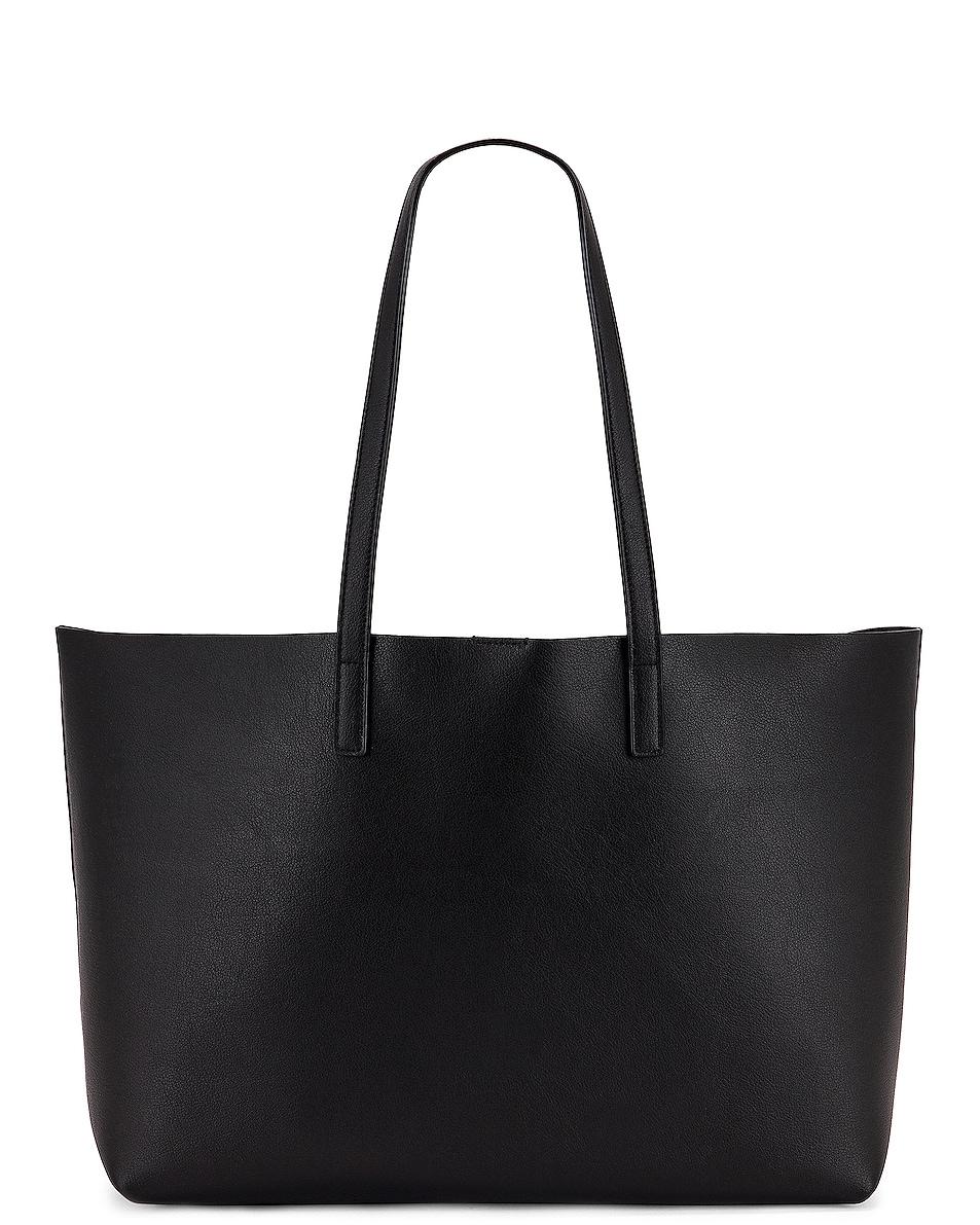 Image 3 of Saint Laurent East West Shopping Bag in Black