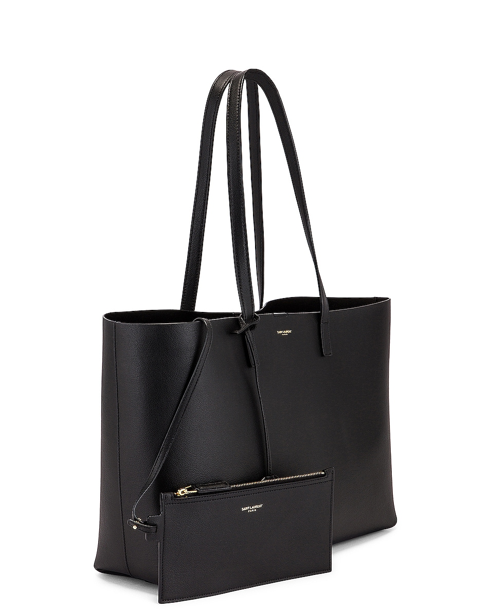 Image 4 of Saint Laurent East West Shopping Bag in Black