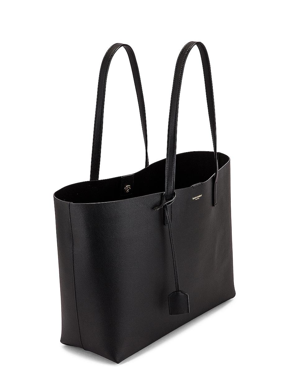 Image 5 of Saint Laurent East West Shopping Bag in Black