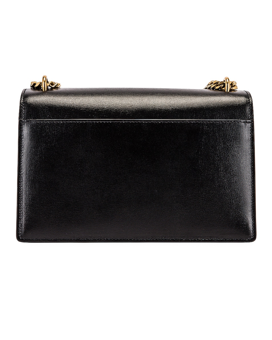 Image 3 of Saint Laurent Medium Sunset Monogramme Bag in Black