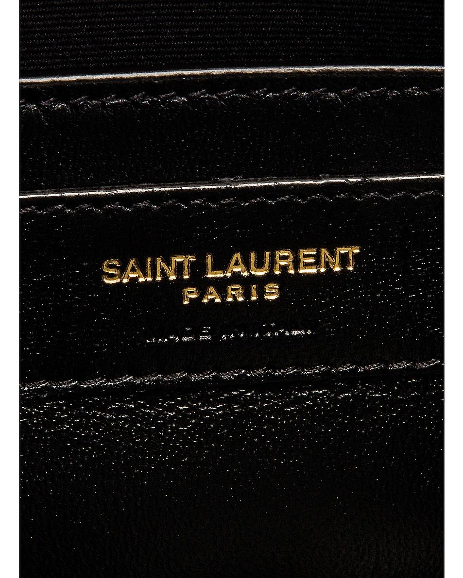 Image 7 of Saint Laurent Small Kate Bag in Tortoise Brown