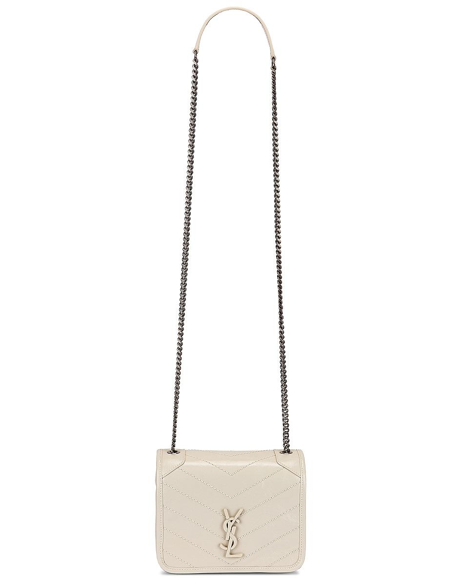 Image 6 of Saint Laurent Niki Chain Wallet Bag in Crema Soft