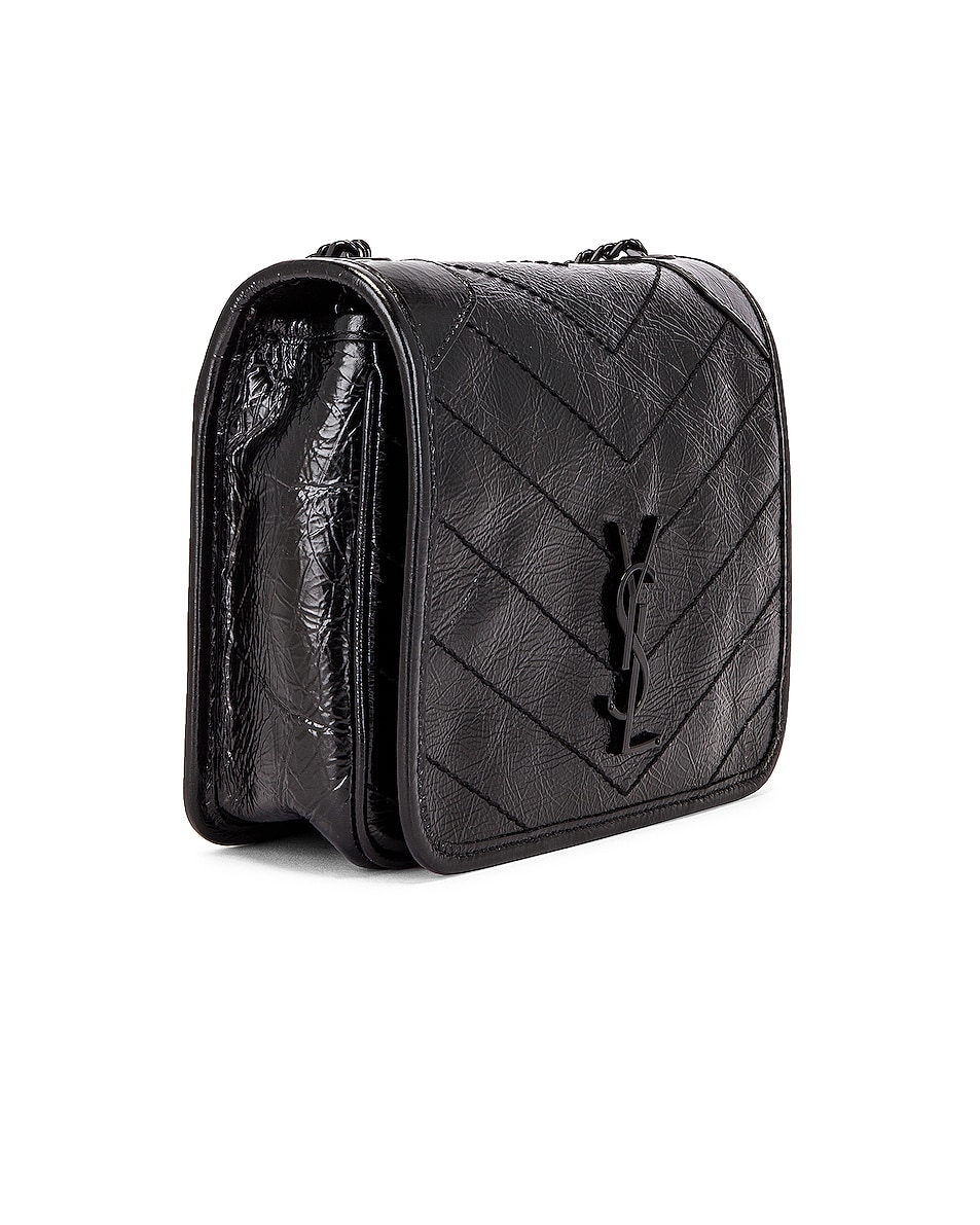 Image 4 of Saint Laurent Chain Wallet Bag in Black