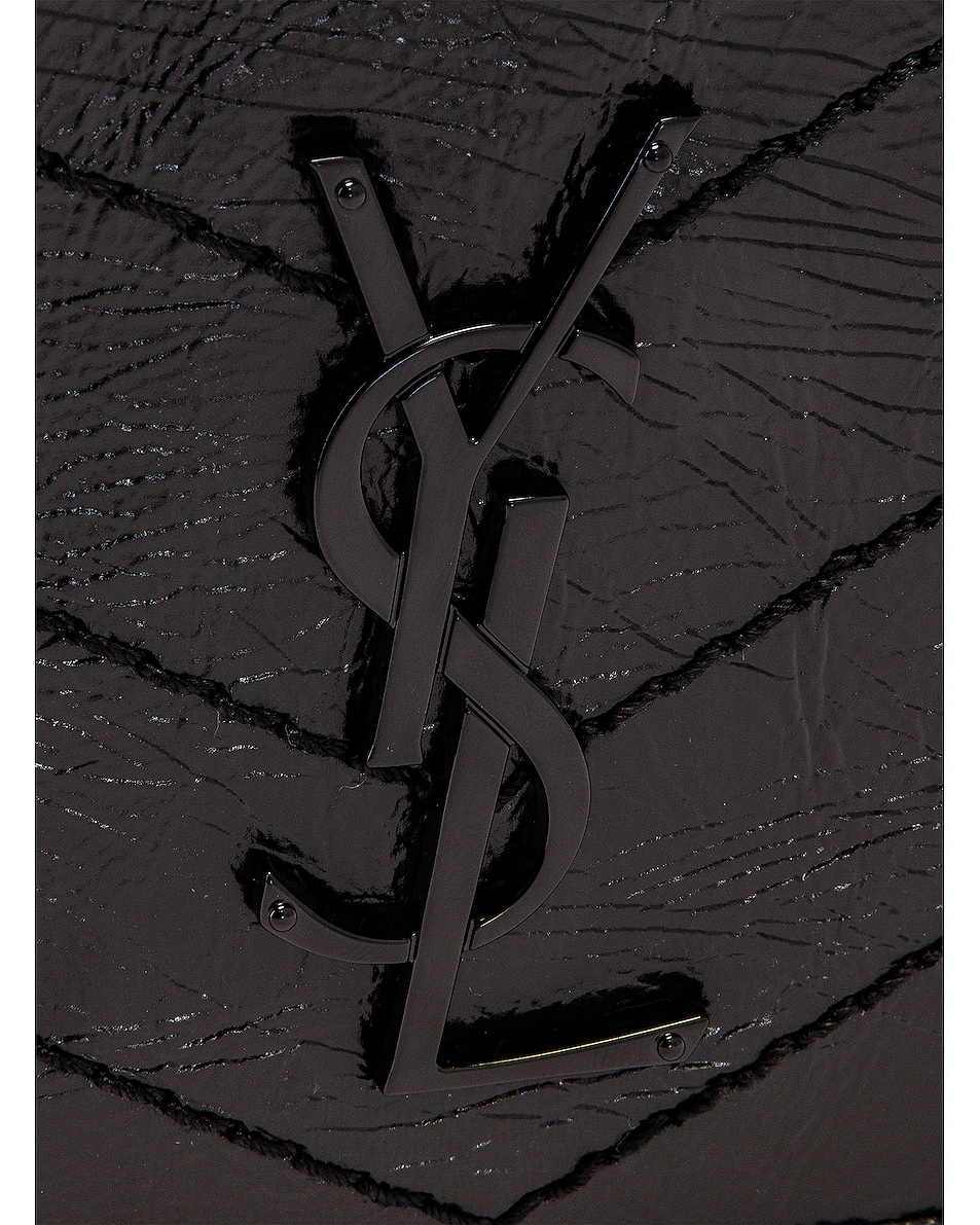Image 8 of Saint Laurent Chain Wallet Bag in Black