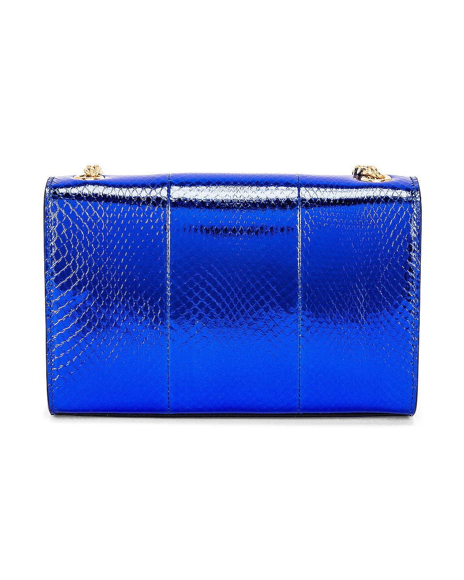 Image 3 of Saint Laurent Small Kate Bag in Shiny Blue