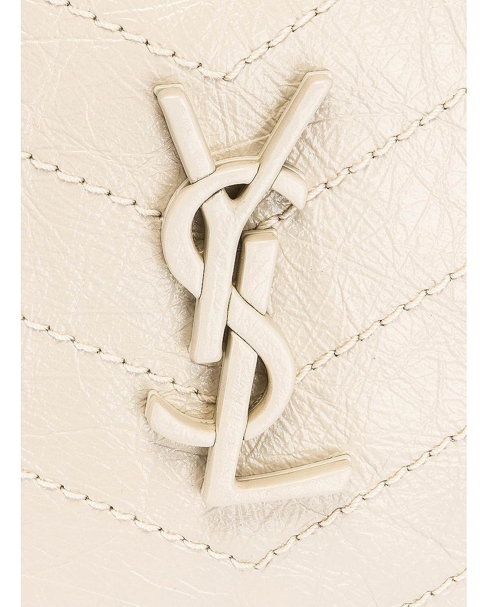 Image 7 of Saint Laurent Monogramme Niki Shoulder Bag in Crema Soft