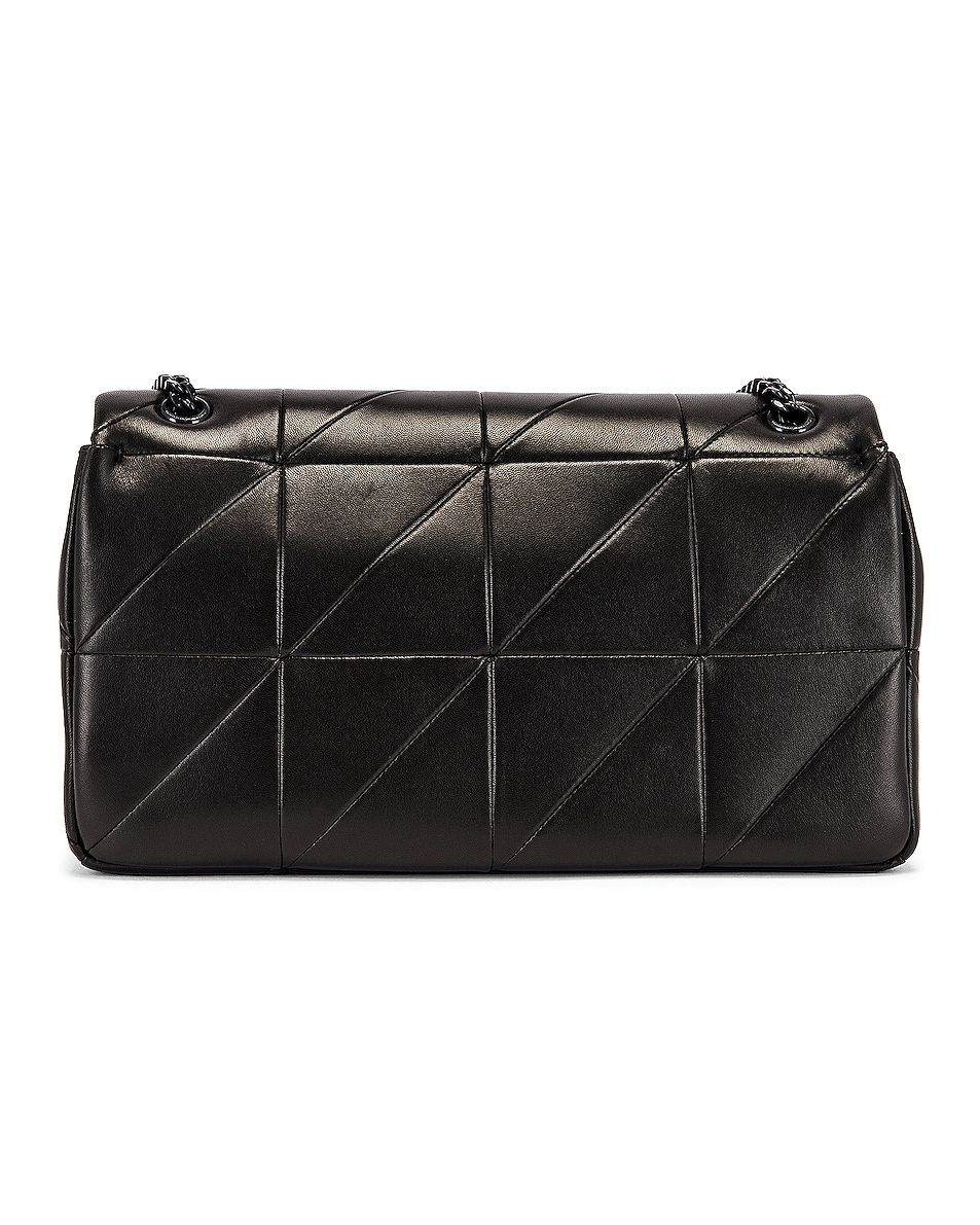 Image 3 of Saint Laurent Medium Jamie Monogramme Chain Bag in Black