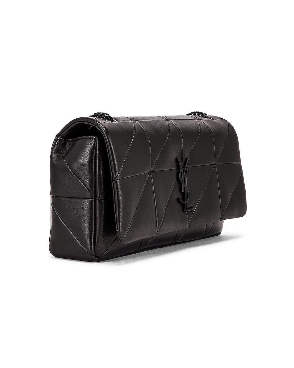 Image 4 of Saint Laurent Medium Jamie Monogramme Chain Bag in Black